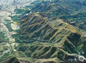 藤原岳-御池岳登山道